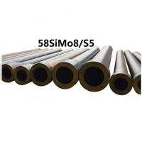 China Forged Round Tool Steel Bar Grade 58simo8 / S5 Material Max Length 11800mm wholesale