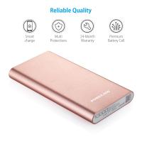 Quality Poweradd Portable USB Power Bank , Aluminium Alloy External Battery Charger for sale