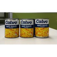China Calvo Brand Canned Sweet Corn Maiz Dulze Net Weight 241g for Central America on sale