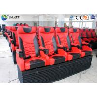 China Pneumatic 4D Movie Theater With Motion 4D Chair For Futuristic Cinema wholesale