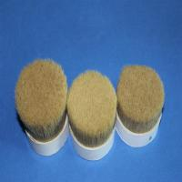 China Double Natural Boiled Bristles For Paint Brushes Pure Boar Bristle Custom Color on sale