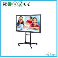 China Full Hd Interactive Touch Screen Monitor Wide Viewing Angle High Compatibility wholesale