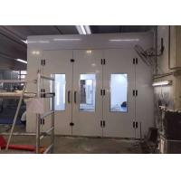 China Inner Ramps High Precision Paint Booth , Powder Coating Spray Booth Hire on sale
