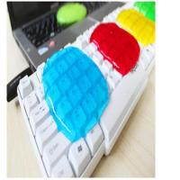 China 17.5*12cm Colorful Super Clean Slimy Gel Magic Keyboard Cleaning Compound wholesale