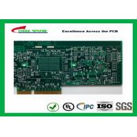 China Printed Circuit Board Double Sided PCB 6 Layer Lead Free HASL + Gold Finger wholesale