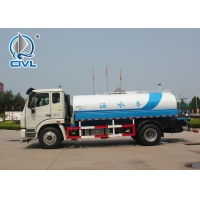 China Cleaning Road 4x2 Euro III 100HP Water Tanker Vehicle on sale