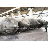 China 1.5m*20m Malaysia Boat Lift Air Bags Launching Ship Salvage Lift Bags wholesale