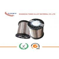 China 0.6mm CuNi30Mn Copper Nickel Alloy Wire , Copper Nickel Strip for Thermal Overload Relay wholesale