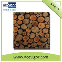 China Random arrange wood mosaic wall tiles wholesale