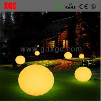 China Glowing Round Ball Shape Decorative Lights For Romantic Life wholesale