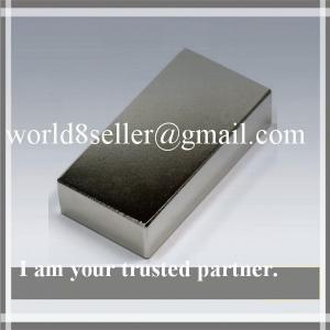 Super N52 Neodymium NdFeB Quadruple-Coated block Rare Earth Magnet for Wind Generator etc