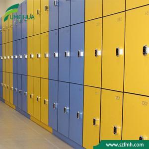 China waterproof staff storage RFID hpl key locker cabinet for sale on sale