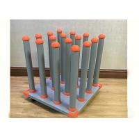 """China Vinyl Cart Stoage of 16 Rolls with a 3"""" Core  For Sign Print Shop Storage 57x57CM wholesale"""
