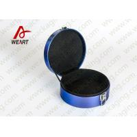 China Whole Blue Printed Customized Paper Box For Jewery Laser Logo Suface wholesale