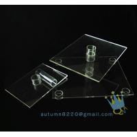 China CD (102) 3 tier acrylic square cake stand wholesale