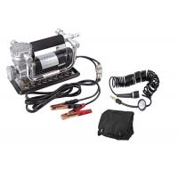 China Portable Fast Inflation Powerful Chrome 12V Car Air Compressor Kit For Tire wholesale