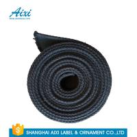 China Black Fabric Casual Belt 100% Woven Printing Cotton Webbing Straps wholesale