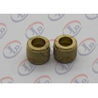 China Knurling Precision Machining Parts Flat Head Hollow Brass Injection Plastic Nuts wholesale