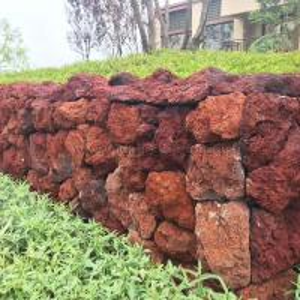 China Red Lava Landscape Stone on sale