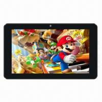 China 7-inch Tablet PC, RK3066 Cortex A9 Dual Core 1.6GHz, GPU Mali400 Quad Core, High Performance wholesale