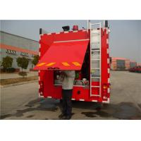 China Four Doors Cab Foam Fire Truck HOWO Chassis Four - Stroke Intercooled Engine wholesale