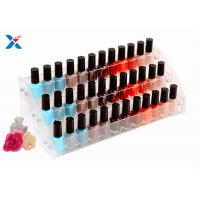 China Nail Polish Counter Acrylic Display Rack Showcase Multi Tiered Good Chemical Resisdence wholesale