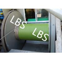 Quality Oil Field Logging Well Winch / Offshore Winch With Lebus Groove Sleeves for sale