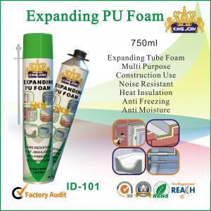 Quality Eco Friendly PU Foam Sealant , Anti Moisture High Density Spray Foam Insulation for sale