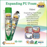 China Expanding Tube PU Foam Sealant Noise Resistant For Window Or Door Wood wholesale