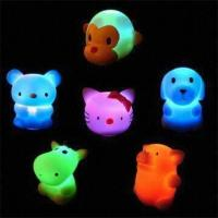 China LED Novelty Lights in Flashing and Floating Animal Designs, Measuring 4.3 x 3.5 x 4.8cm wholesale