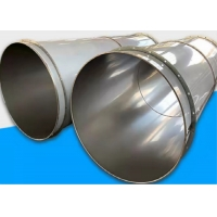 China 100m 304SS Weld Duct Seam Specialised Pipe And Fittings / Exhaust Pipe Fitting wholesale
