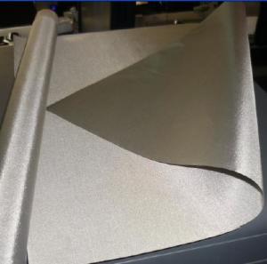 China NFC shield nickel copper ripstop conductive fabric 80DB wholesale