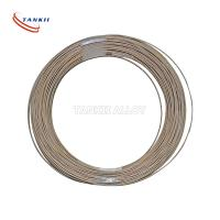 China 5mm Width CUNI12MN2 Resistance Alloy Copper Color Flat Strip / Flat Wire For Shunt wholesale