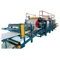 China EPS Sandwich Production Line , Roof Panel / Wall Panel Roll Forming Machine wholesale
