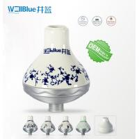 China WellBlue OEM Chlorine Removal Shower Filter , Portable SPA Shower Head Filter on sale