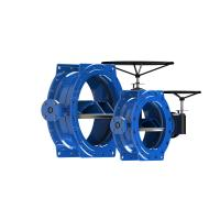 China DI Disc Stainless Steel Butterfly Valve , Epoxy Coated High Pressure Butterfly Valve wholesale