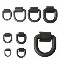 China Customized Safety D Rings Steel Heavy Duty Weld Forged Mounting Buckle wholesale