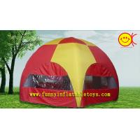 China Lightweight 2 Person Dome Inflatable Air Tent 6x6 For Family Outdoor Caming / Hiking wholesale