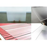 China Clear Low Iron  Solar Panel Glass 3.2mm / 4.0mm Thickness Sample Available wholesale