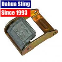 China 2 Inch Zinc Cam Buckle Ratchet Strap Parts , Breaking Strength 2500 Lbs wholesale