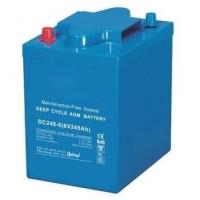 China 245Ah VRLA AGM Battery , 6 Volt Deep Cycle Battery For EV Golf / Utility Vehicle wholesale