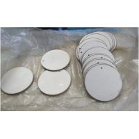 China High Efficiency Piezo Ceramic Disc Round Shape 43 X 2mm With P8 P4 Material wholesale