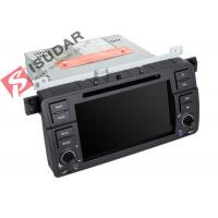 China Original Car User Interface BMW E46 Sat Nav Double Deck Car Stereo Built In 10 Wallpapers wholesale