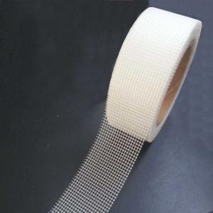 China 8x8 55g/M2 50mm Width Fiberglass Self Adhesive Tape Smoothness wholesale