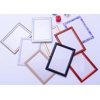 China Round Corner A1 Snap Frame Poster Display , Wall Mounted Aluminum Picture Frames wholesale