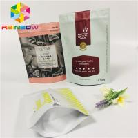 China Aluminum Foil Tea Packaging Pouch Stand Up Bags Child Proof Customized Printed wholesale