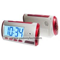 China Digital Spy Camera Clock with Remote Control and Motion Detection wholesale