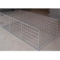 China Galvanized Welded Wire Gabions Baskets Retaining Wall Spirals / Helicals Connected wholesale
