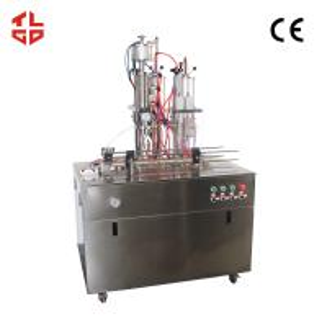China Hair Spray Mousse Aerosol Spray Paint Filling Machine 0.65-1.0mpa Working Pressure wholesale