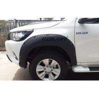 China Hilux Revo Body Parts Wheel Arch Fender Trims / 4x4 Fender Flares For Toyota Pickup on sale